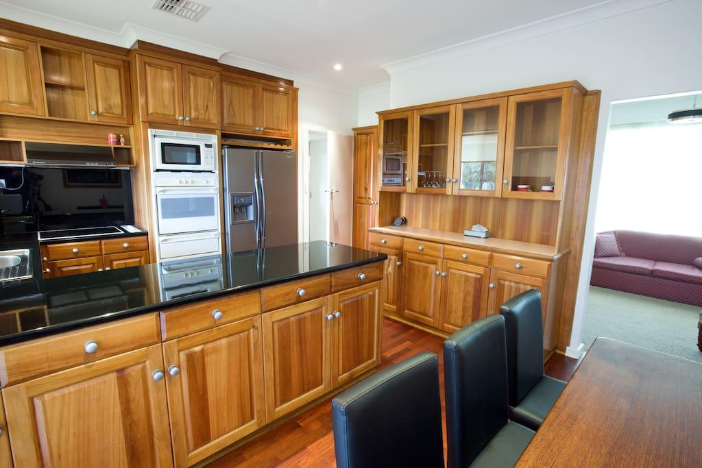 1 Fairlie Street -  Kitchen