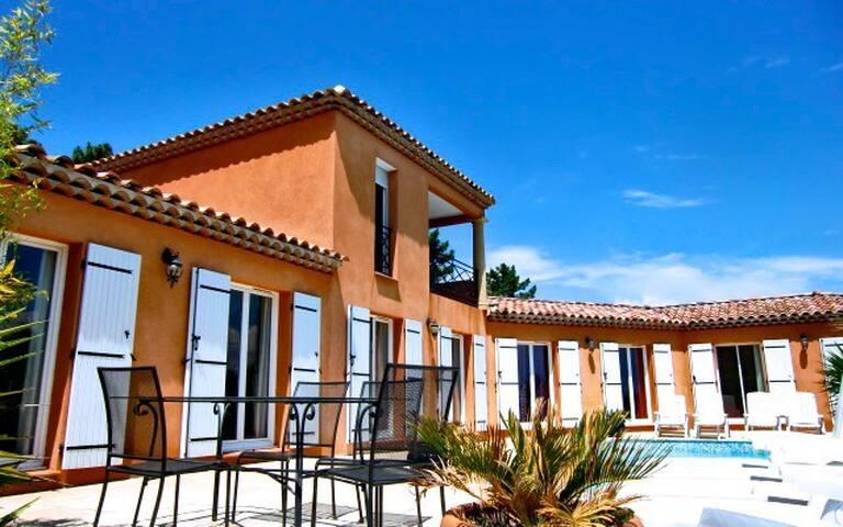 EDEN CAP HOUSE WITH SEA VIEW - Mandelieu-la-Napoule