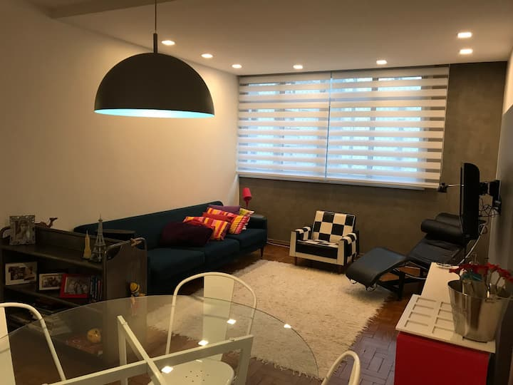 Clean&Cozy apartment next to Paulista and Ibirapue