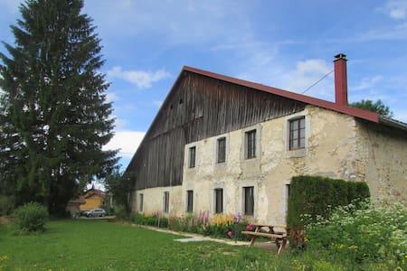 agréable appartement (70m²) dans le massif du Jura