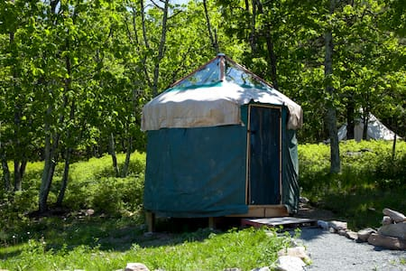 10' Yurt at Arts On Site Residency & Retreat