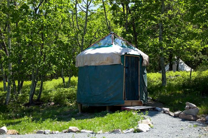 10' Yurt at Arts On Site Residency & Retreat
