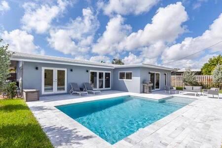 Mid-Century Modern Single Home - Hus