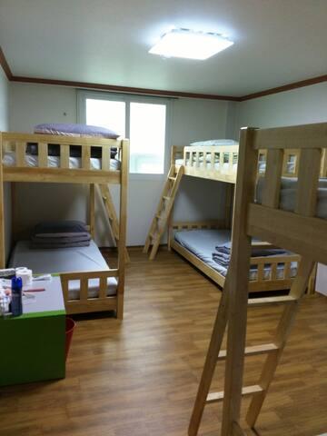 이층 침대 1, 2, 3