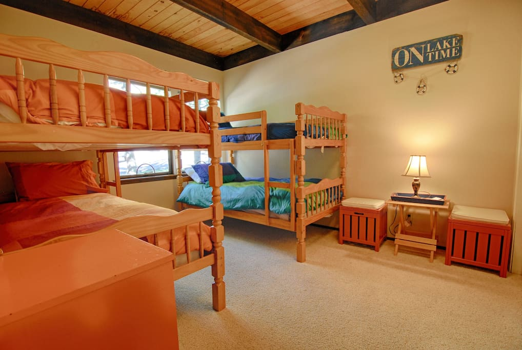 Bedroom #1: Twin bunk beds