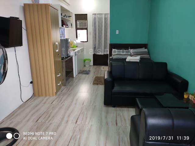 02 Fully-Furnished Studio/Free Parking & WiFi/4pax