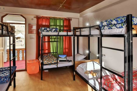 A Bed in 6 Bed Mixed Dorm in Spiti