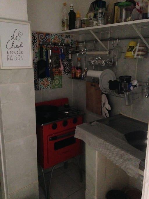 A mini cozinha que faz tudo gourmet!