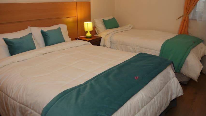 Habitaciones en hotel 3 estrella, con baño privado