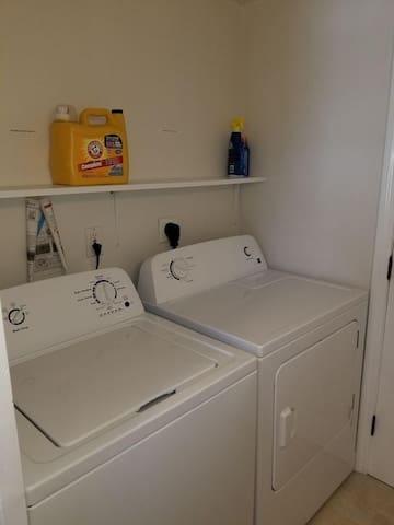 Bathroom #1 Laundry