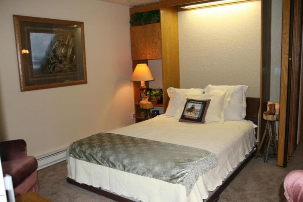 This is the Murphy bed!