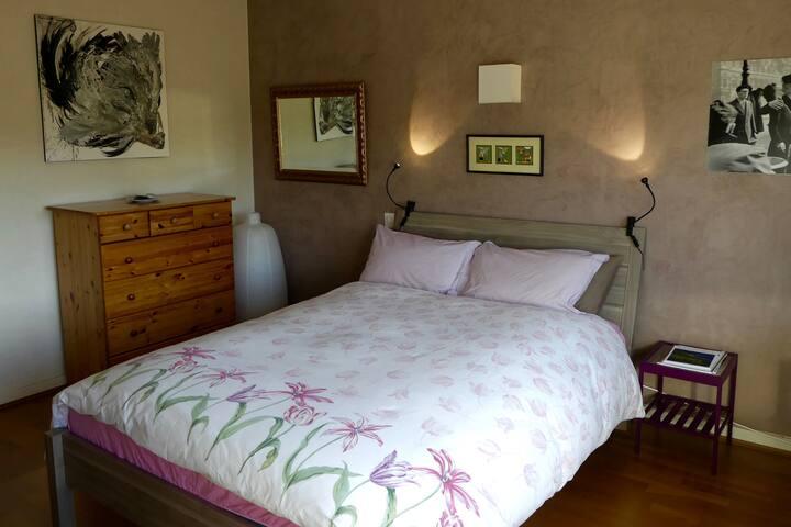 Belle chambre lumineuse de 16 m2, à 15' de Lyon