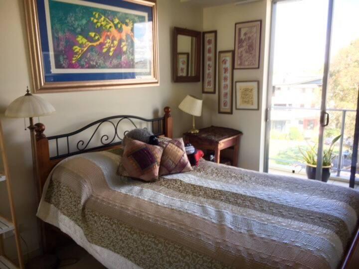 PRIVATE ROOM, PRIVATE BATHROOM, COTTON TREE