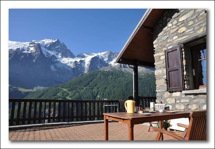 Chalet en montagne plein de charme - La Grave - Alpstuga