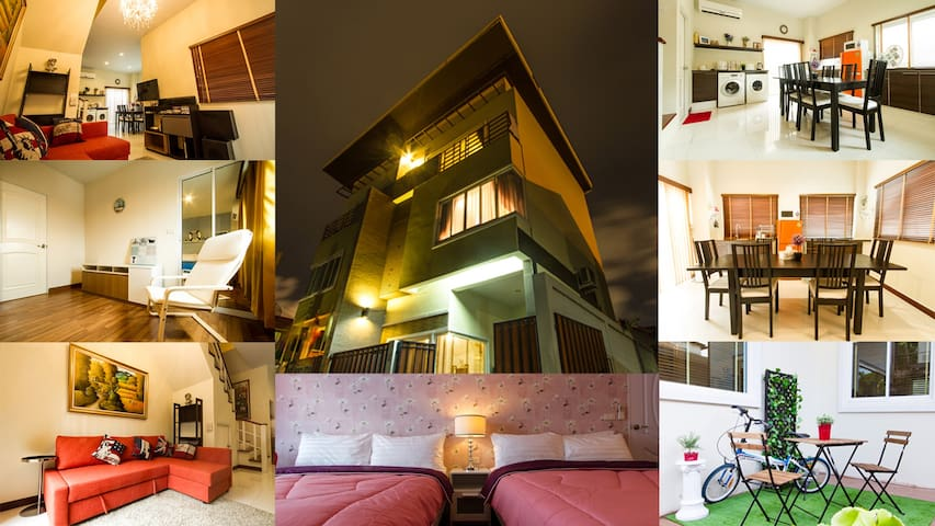 Wow! Entire 3story home in Bangkok - Banguecoque - Casa