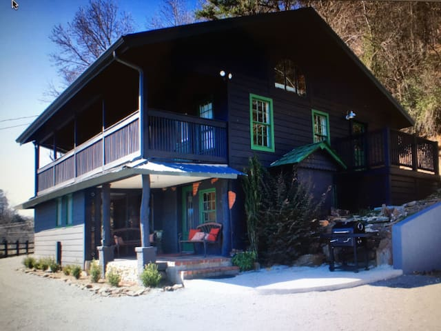 Downtown Cottage - Ellijay - Hus