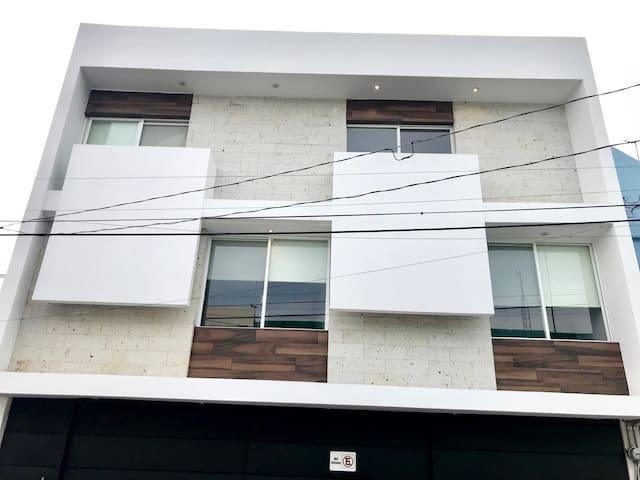 ¡Depa 1 Olé! dos habitaciones, Excelente ubicación