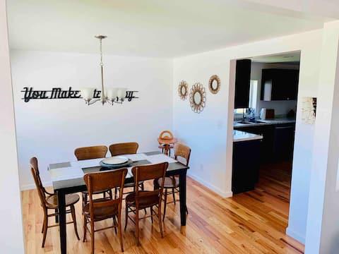 Renovated home; Malletts Bay, North of Burlington
