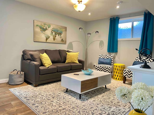 Newly-developed private basement suite