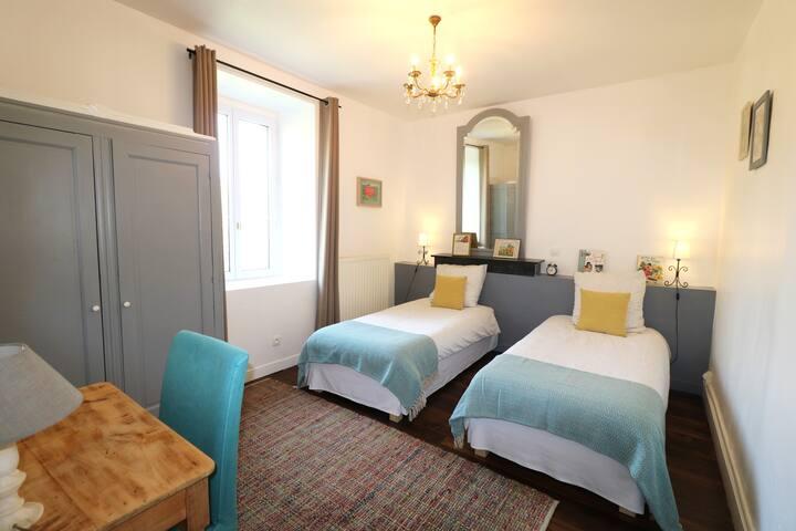 2 chambres d'hôtes pour 4 personnes à Panduonec