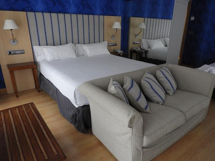 Habitación en hotel boutique- Cuádruple