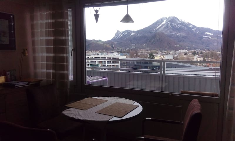 A big room with a wonderful view - Salzburg - Byt