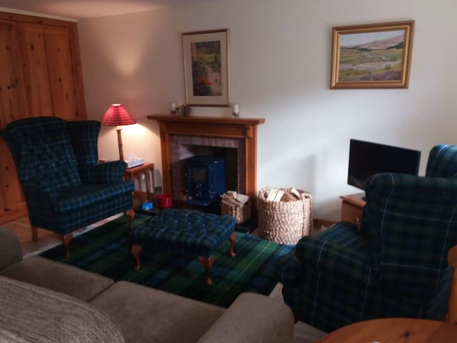 Cosy and comfortable living area