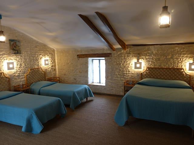 Chambre de charme Les Embruns à 15' de La Rochelle