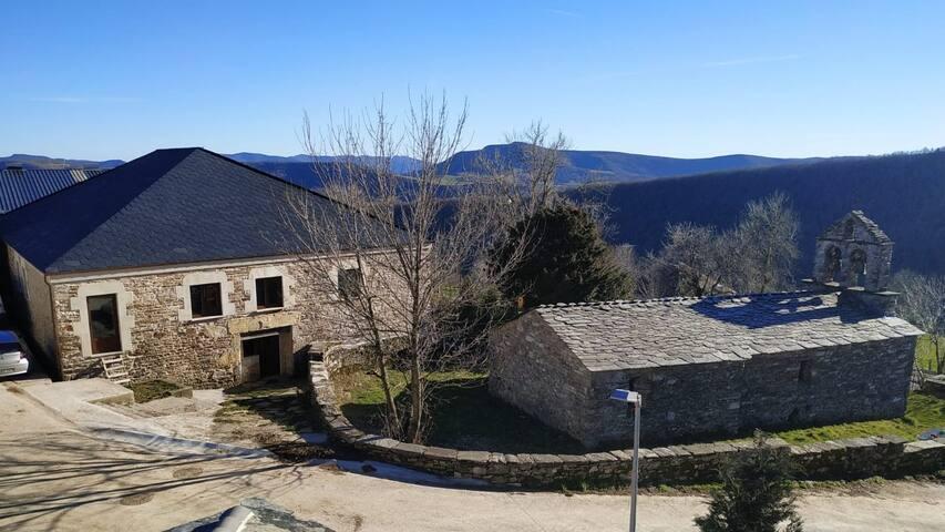 Casa Rural en tranquila aldea de alta montaña