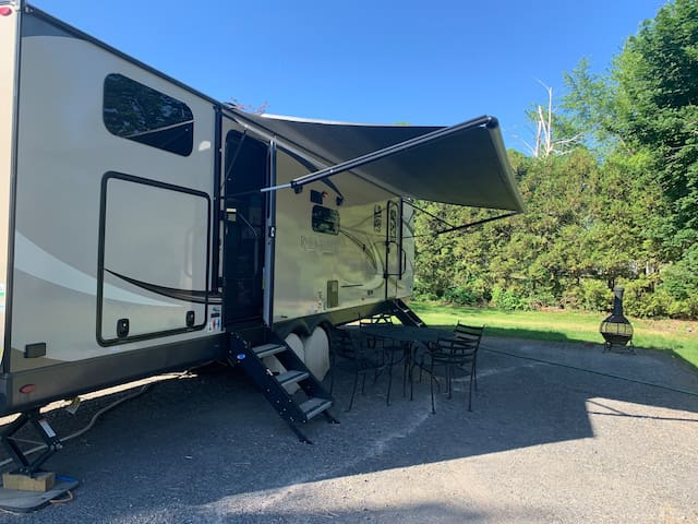 Cape Vincent RV with a view