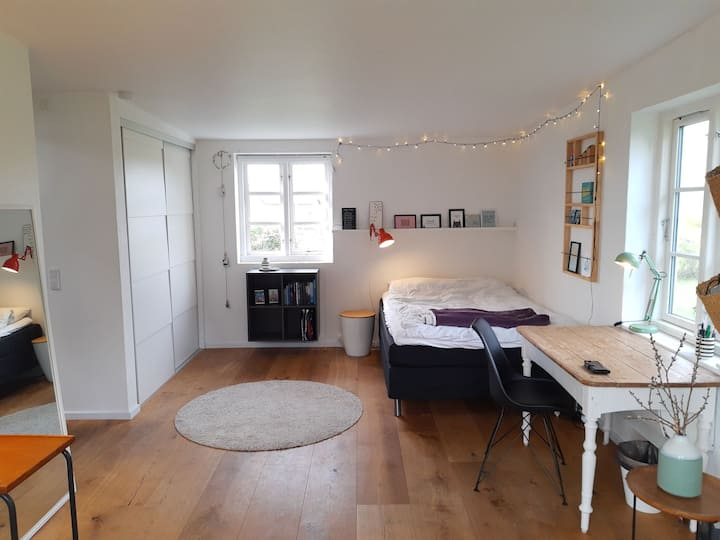 Haderslev: Annex with large room and bathroom