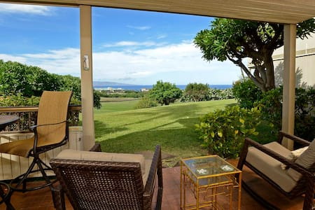 Front Row Wailea Ekolu 1 Bed - Golf & Ocean Views! - Wailea-Makena - Apartemen