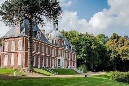 Chambre Verte au Chateau Du Landin - Le Landin - Castle