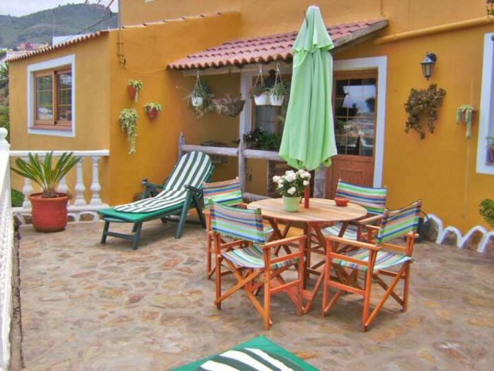 Apartment mit Terrasse & Meerblick - 5848