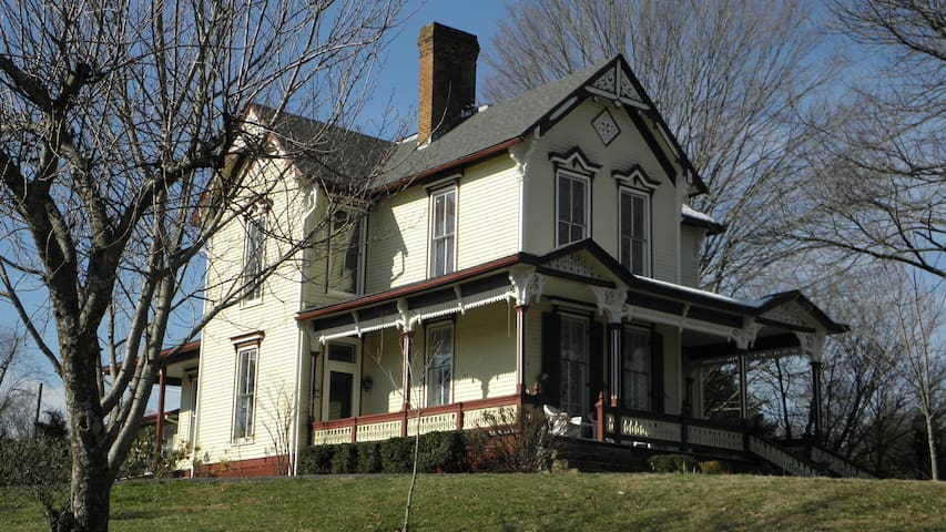 Victorian Home in Historic Jonesborough TN - Jonesborough - Hus