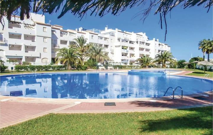 Awesome home in La manga del Mar Menor with WiFi, 2 Bedrooms and Outdoor swimming pool
