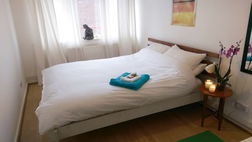 Clean, White and Bright in Lovely Islington - London - Apartment
