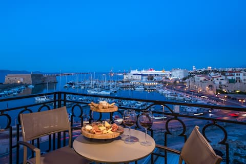 Chic  Apt with views at Coules fortress