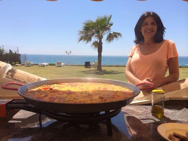 Cocinar junto al mar