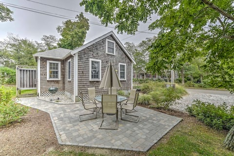 Eastham Cottage w/Backyard-100 Yards to the Bay!