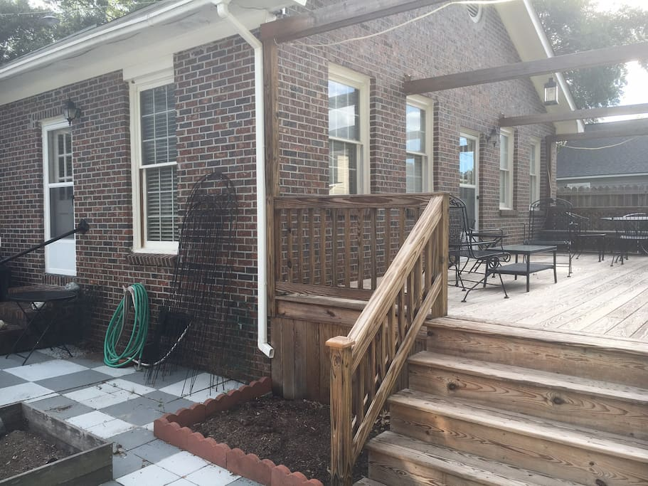 Cozy Guest House Close To Downtown Charleston Guesthouses For Rent In Charleston South