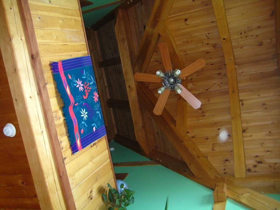 dining area overhead