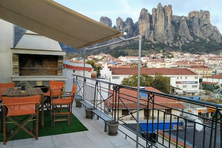 Best view of Meteora in ''Stavros home''