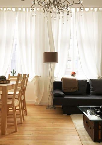 Elegante & helle Wohnung direkt im Stadtzentrum