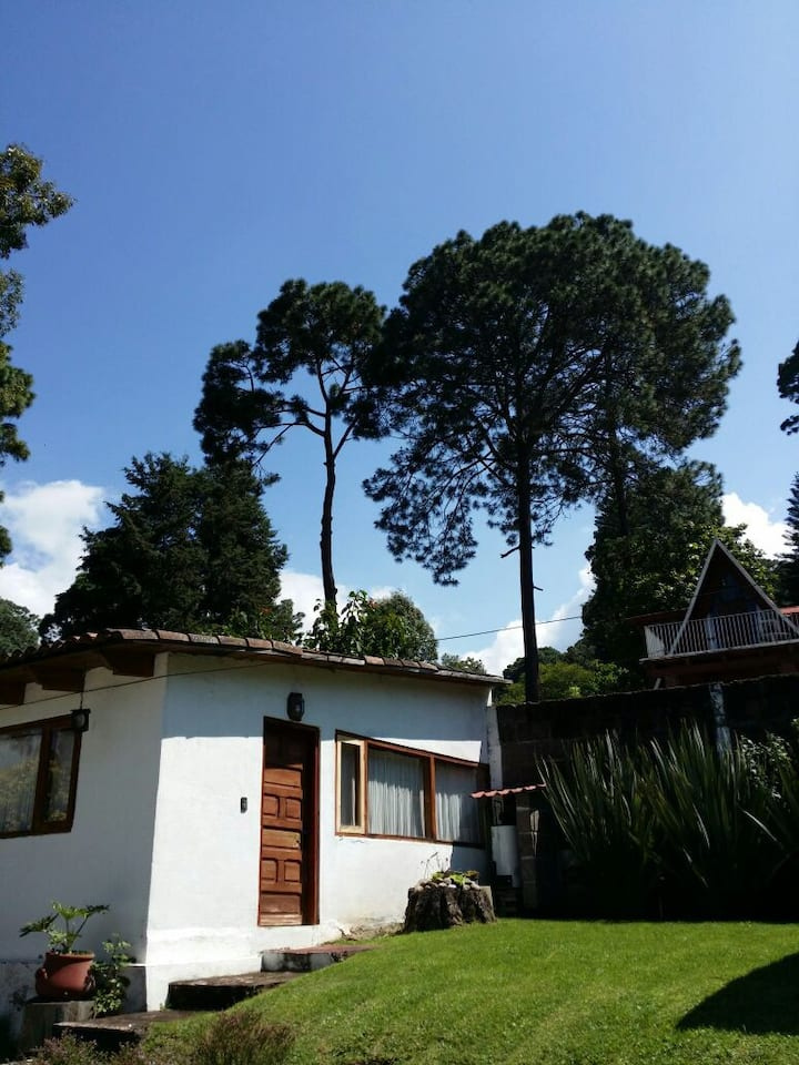 Cabaña Avandaro-ValledeBravo Tradicional tipo Loft