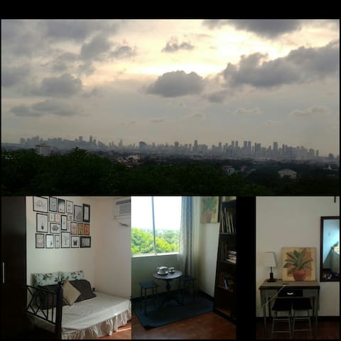 Chic& Affordable Sunset View Studio - Ortigas Avenue Extension, Cainta - Wohnung