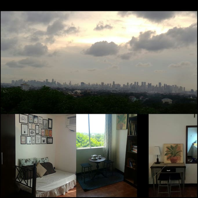 Affordable Studio Apartments: Chic& Affordable Sunset View Studio
