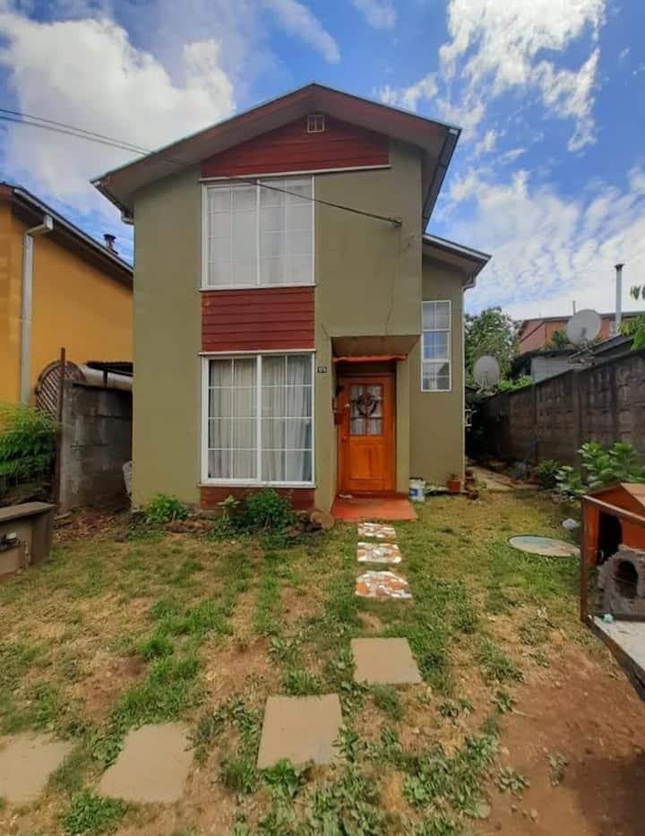 comoda casa para eclipse 2020 Villarrica