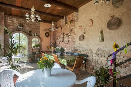 Romantico B&B immerso nel verde / Camera Ortensia - Bed & Breakfast