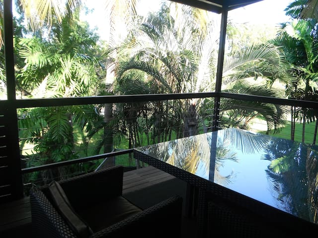 Lovely parklands view from your private balcony